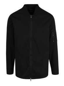 Černá lehká bunda se zipem ONLY & SONS Theodore