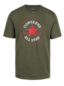 Khaki pánské tričko s potiskem Converse Core