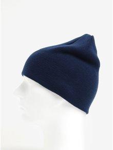Čierno-modrá pánska obojstranná čiapka Quiksilver
