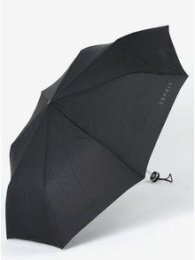 Černý skládací deštník Esprit