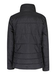 Čierna prešívaná bunda so skrytou kapucňou ONLY Brooke