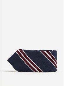 Modrá klučičí pruhovaná kravata Name it Pisp