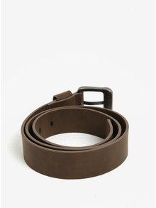 Tmavě hnědý pánský pásek Quiksilver