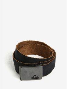 Černý pánský textilní pásek Quiksilver