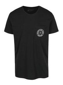 Černé pánské tričko s krátkým rukávem Calvin Klein Jeans Typair