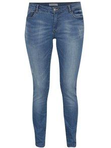 Modré skinny džíny s potrhaným efektem Jacqueline de Yong Reg Charlene