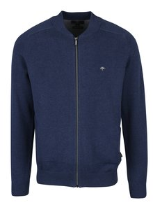Tmavě modrý cardigan na zip Fynch-Hatton