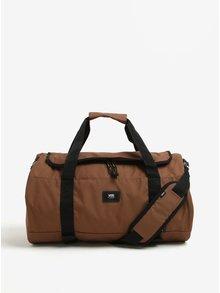 Hnedá cestovná taška VANS Grind