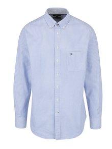 Bílo-modrá pruhovaná košile s náprsní kapsou Fynch-Hatton