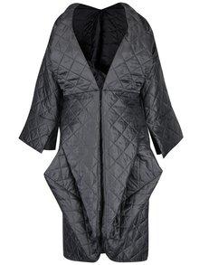 Kimono origami gri matlasat oversized Bianca Popp