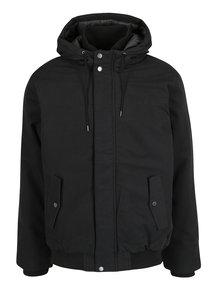 Čierna pánska zimná vodovzdorná bunda Quiksilver