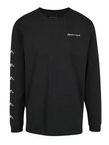 Černé pánské tričko s potiskem na zádech Quiksilver
