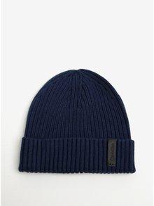 Tmavomodrá pánska súprava čiapky a šálu Calvin Klein Jeans Octave
