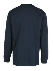 Tmavě modré pánské tričko s dlouhým rukávem VANS Side Waze