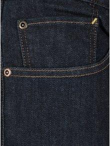 Blugi slim fit albastru inchis cu talie elastica  Quiksilver