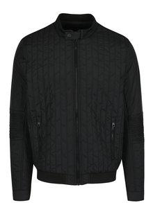 Černá pánská prošívaná bunda Calvin Klein Jeans Otor