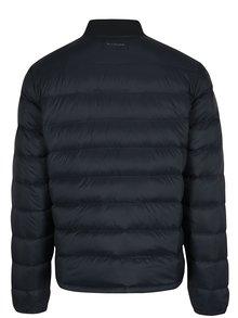 Tmavomodrý pánsky prešívaný bomber Calvin Klein Jeans Opron