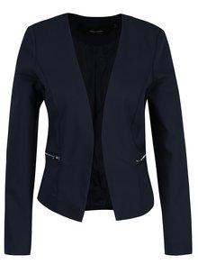 Tmavě modré sako s falešnými kapsami VERO MODA Thea