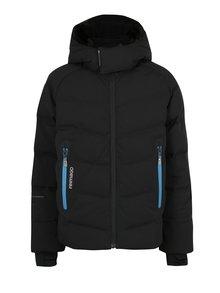 Čierna chlapčenská prešívaná páperová bunda Reima Wakeup