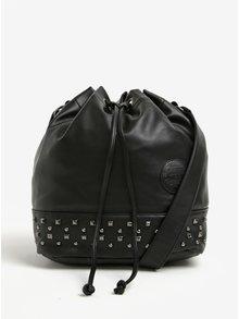 Černá kabelka/vak s cvočky Meatfly Orphan
