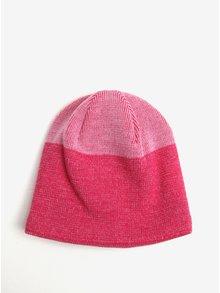 Růžová holčičí funkční čepice z Merino vlny Reima Vaahtera