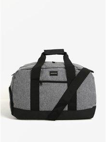 Sivá pánska cestovná taška Quiksilver 43l