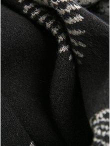 Sivo-čierny vzorovaný šál Desigual Rubi