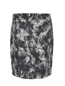 Tmavosivá vzorovaná sukňa Skunkfunk