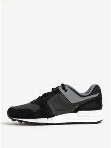 Pantofi sport negru&gri cu detalii din piele intoarsa pentru barbati Nike Air Pegasus´89