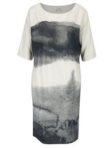 Krémovo-šedé šaty Skunkfunk