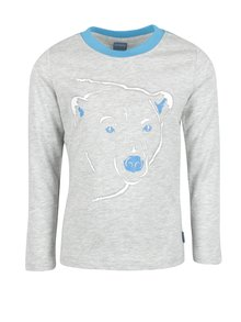 Modro-sivé chlapčenské tričko s potlačou Venere