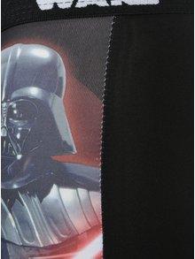 Červeno-čierne chlapčenské boxerky s potlačou Star Wars