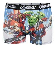 Černo-modré klučičí boxerky s potiskem Avengers