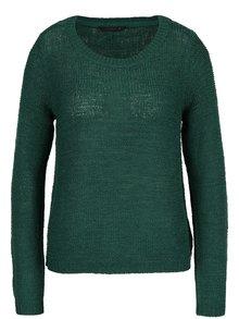 Tmavě zelený pletený svetr ONLY Geena
