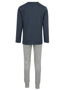 Sivo–modré chlapčenské pyžamo name it Night