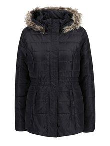 Černo-šedá dámská zimní voděodpudivá prošívaná bunda s kapucí LOAP Tamda