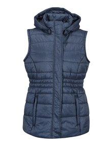 Modrá dámska vodoodpudivá prešívaná vesta LOAP Tabita