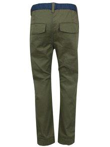 Kaki chlapčenské nohavice s pružným pásom 5.10.15.