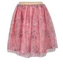 Ružová dievčenská vzorovaná tylová sukňa 5.10.15.