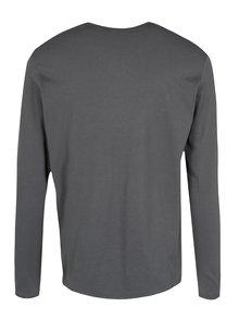 Bluza regular fit gri&negru cu print logo O'Neill