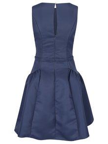 Modré šaty bez rukávov Little Mistress