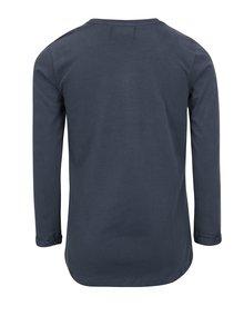 Tmavě modré holčičí tričko s potiskem 5.10.15.