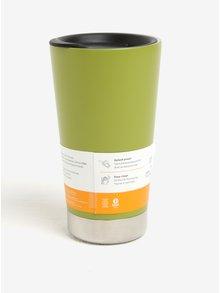 Cană termos verde & alb  Klean Kanteen Insulated Tumbler 473 ml