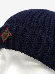 Tmavě modrá klučičí čepice 5.10.15.