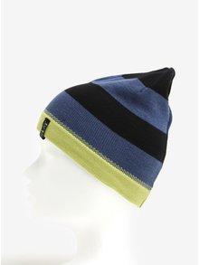 Modro-čierna chlapčenská pruhovaná čiapka 5.10.15.