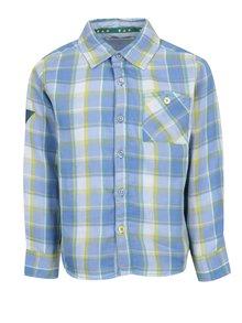 Zeleno-modrá klučičí kostkovaná košile 5.10.15.
