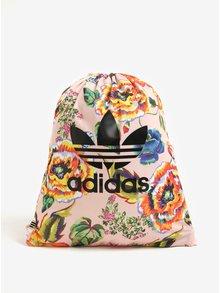 Růžový dámský květovaný vak adidas Originals