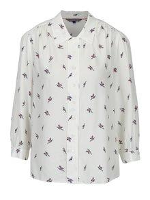 Krémová dámská vzorovaná košile Tommy Hilfiger