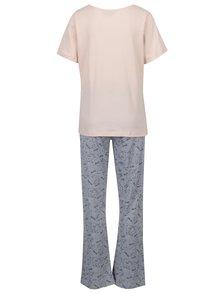 Sivo-ružové pyžamo s ľadovými medveďmi Dorothy Perkins