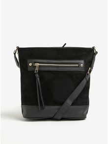 Černá malá crossbody kabelka Dorothy Perkins